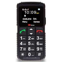 TTfone Dual 2 (TT59) Telefono Cellulare basilare per anziani